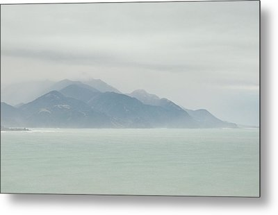 Metal Print featuring the photograph Sea Mist by Odille Esmonde-Morgan