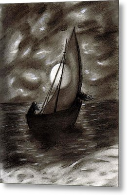 Sea Queen Of Connacht Metal Print by C Nick