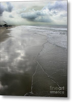Seal Beach Morning Metal Print