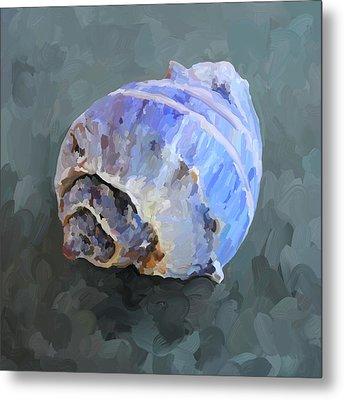 Seashell IIi Metal Print by Jai Johnson