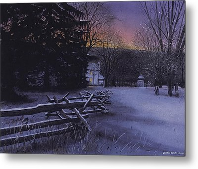 Secluded Metal Print by Denny Bond