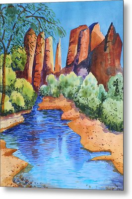 Secluded In Sedona Metal Print