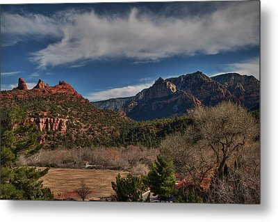 Metal Print featuring the photograph Sedona Arizona 001 by Lance Vaughn