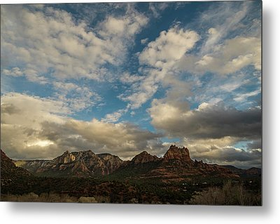 Metal Print featuring the photograph Sedona Arizona Redrock Country Landscape Fx1 by David Haskett