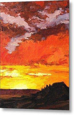 Sedona Sunset 2 Metal Print