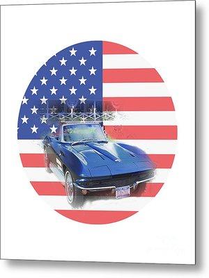 See The Usa Metal Print