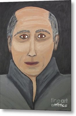 Metal Print featuring the painting Self by Jeffrey Koss