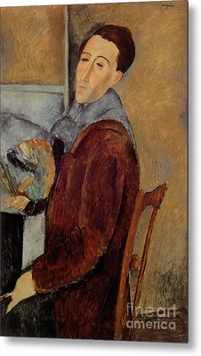Self Portrait Metal Print by Amedeo Modigliani