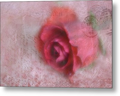 Metal Print featuring the photograph Send With Love 2 by Diane Alexander
