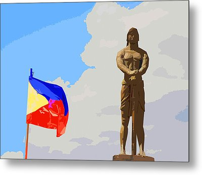 Sentinel Of Freedom Metal Print