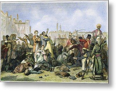 Sepoy Mutiny, 1857 Metal Print by Granger