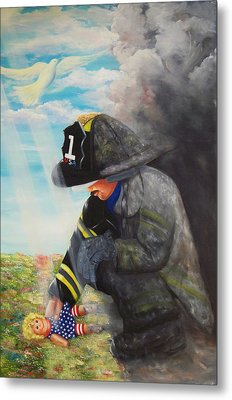 September 11th Metal Print