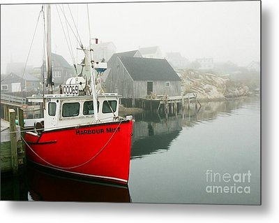 Serenity In Red Metal Print