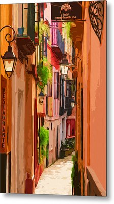 Seville, Colorful Spain Metal Print