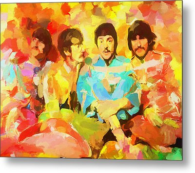 Sgt. Peppers Lonely Hearts Metal Print