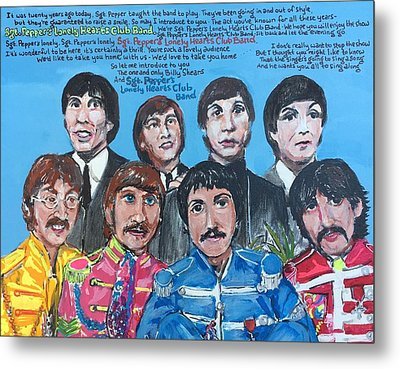 Sgt.pepper's Lonely Hearts Club Band Metal Print