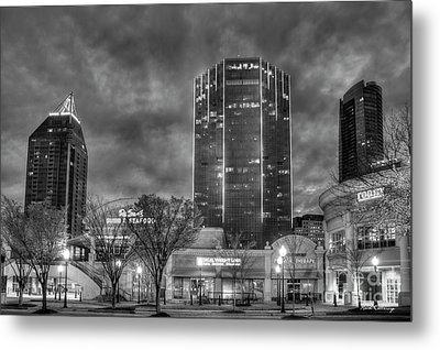 Shades Of Business Buckhead Financial District Atlanta Art Metal Print