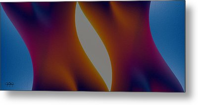 Shades Of Colour Metal Print by James Barnes