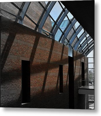 Metal Print featuring the photograph Shadows And Light by Laura DAddona