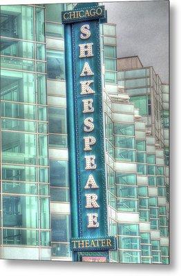 Shakespeare Theater Metal Print