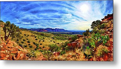 Shaman's Dome Trail Metal Print by ABeautifulSky Photography