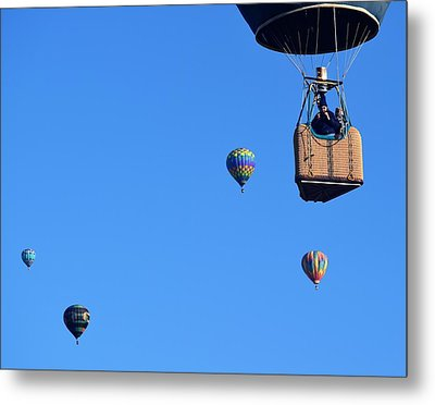 Share The Air Metal Print by John Glass