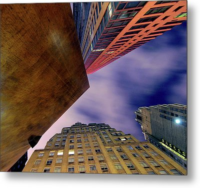 Sharp Metal Print by Mike Lindwasser Photography