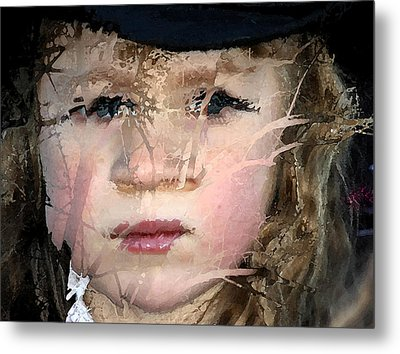 Shattered Illusions Metal Print by Barbara  White