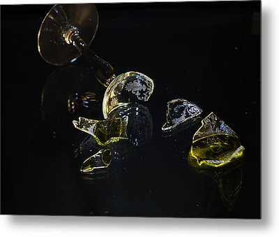 Metal Print featuring the photograph Shattered Illusions by Susan Capuano