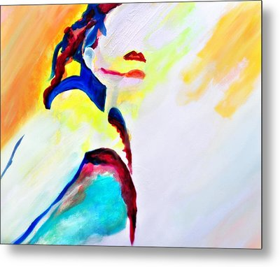 She Refused To Turn Away Metal Print by Jill Jacobs