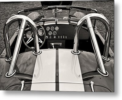 Shelby Cobra Metal Print by Scott Wood