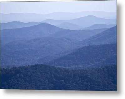 Shenandoah Mountains Metal Print by Pierre Leclerc Photography