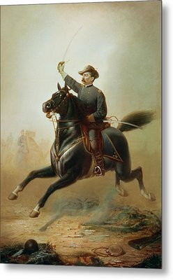 Sheridan's Ride Metal Print by Thomas Buchanan Read