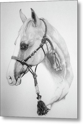 Shes The Gentle One Metal Print by Tracy L Teeter