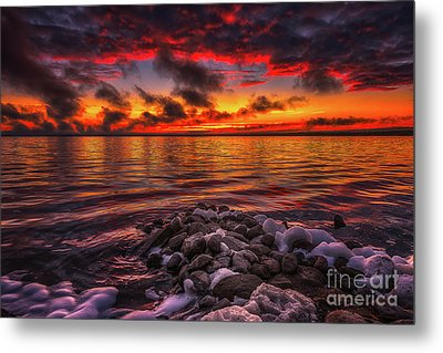 Shores Of Beautiful II Metal Print