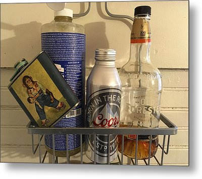 Shower Caddy 2 Metal Print