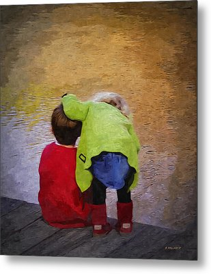 Sibling Love Metal Print by Brian Wallace