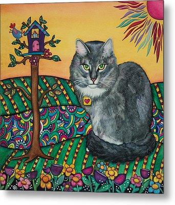 Sierra The Beloved Cat Metal Print