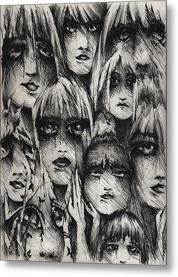 Silent Screams Metal Print by Rachel Christine Nowicki