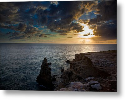 Silent Sunset Metal Print by Patrick  Flynn
