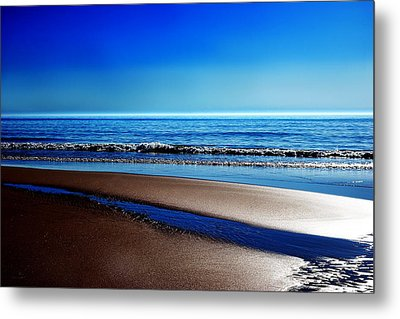 Silent Sylt Metal Print by Hannes Cmarits