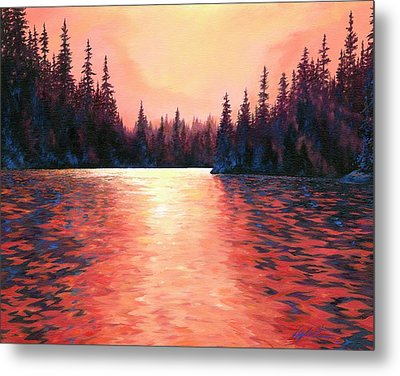 Silent Treasures Metal Print by Lucy West
