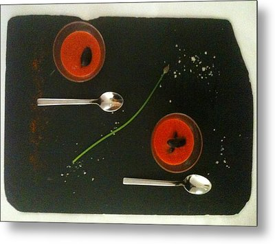 Simplicity Metal Print by Contemporary Art