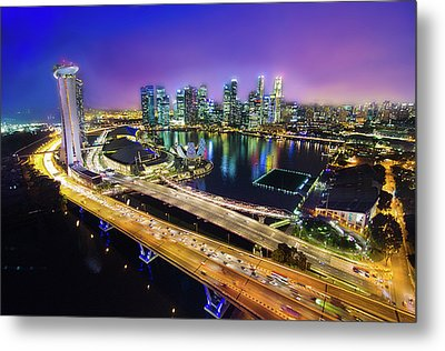 Singapore Flyer Metal Print by You can view more of my images at www.on9cloud.com