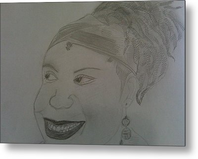 Singer Of Jill Scotts Metal Print