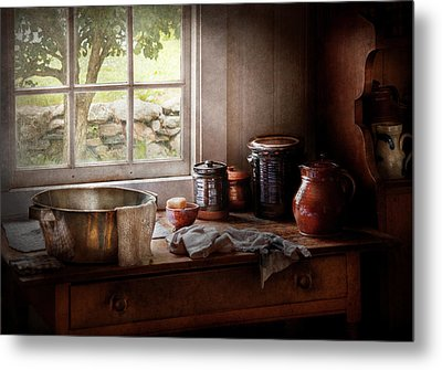 Sink - The Morning Chores Metal Print by Mike Savad