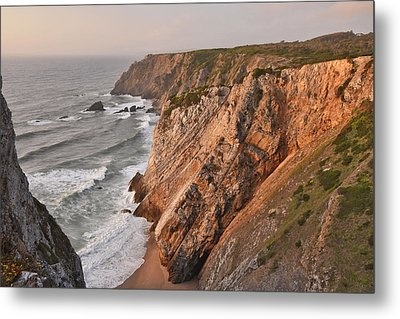 Metal Print featuring the photograph Sintra Portugal Coast by Marek Stepan