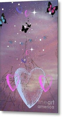 Sisterly Love Metal Print by Diamante Lavendar