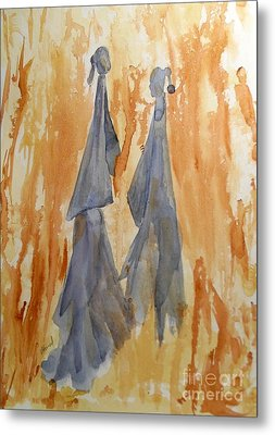 Sisters Metal Print by Vicki  Housel