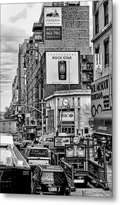 Sixth Avenue Fourteenth Street Sub Station Metal Print